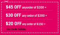 Sweetiee.com: $45 Off $300+
