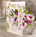 Flowercard: Blackberries & Cream