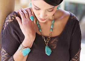 shop for Turquoise Thistle
