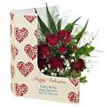 Flowercard: Valentine Roses
