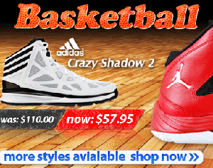 45% off Basketball shoe