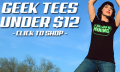 Five Finger Tees: Geek Tees Under $12