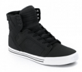 Sun Diego Boardshops: Supra Skytop Shoe- Tuf Black TUF BLACK Now With A Big Discount