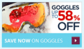 SnowBoards: Goggles: 58% Off