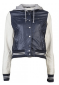 Sun Diego Boardshops: OBEY Varsity Lover Jacket NAVY/CREAM Now With A Big Discount