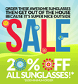 BestBuyEyeglasses.com: 20% Off All Sunglasses