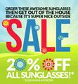BestBuyEyeglasses.com: 20% Off All Sunglasses