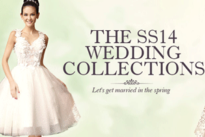 The SS14 wedding collections