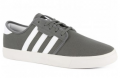 Sun Diego Boardshops: Adidas Seeley Shoe- Mid Cinder White Black Mid Cinder White Black Now With A Big Discountount