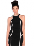 Pink Mascara: 60% Off Parker Bruna Dress In Black And White