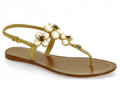 Footnotesonline: Tory Burch - Jameson - Jeweled Thong $275.00
