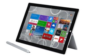 $150 off Surface Pro 3 - 64GB / Intel i3