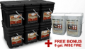 Wise Food Storage: Free 8 Gal. Wise Fire + Free Shipping