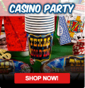 Cool Glow: Casino Theme Party Supplies