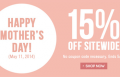 Vogue Wigs: Happy Mother's Day 15% Off Sitewide
