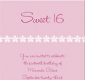 EInvite: Sweet 16 Birthday Invitations