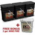 Wise Food Storage: Free 2 Gal. Wise Fire  + Free Shipping