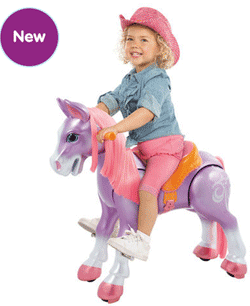 $20 Off Giddy Up 'N Go Pony Girl - Tulip