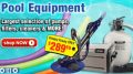 In The Swim: Pool Equipment Only $289.99