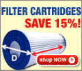 In The Swim: 15% Off When You Buy 2 Or More Filter Catridges