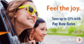 Budget Car Rental: 35% Off With Pay Now Rates
