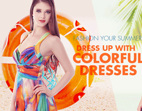 Fashion your summer with colorful dresses