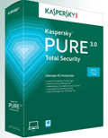 Kaspersky: $25 Off PURE 3.0 Total Security