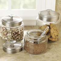 $35 off Glass Canisters set of 3 + FREE Shipping!