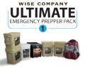 Wise Food Storage: 5% Off 3-Month Ultimate Prepper Pack For Adults
