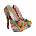 Sammy Dress: Ethnic Style Women's Pumps