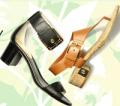 Footnotesonline: Block Heel Sandals