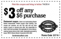 BostonMarket: Get $3 Off Any $6 Purchase