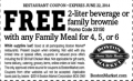 BostonMarket: Free Beverage Or Brownie