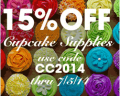 Global Sugar Art: 15% Off CupCake Supplies