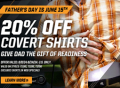 5.11 Tactical: 20% Off Father's Day