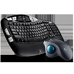 Logitech: $20 Off Logitech Wireless Keyboard K350 & Wireless Trackball M570 Bundle