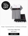 6PM: Up To 70% Off Kids Summertime Clothes & Shoes