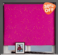 Order Blinds: Up To 30% Off Pink Blackout Roller Blind
