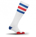 PRO Compression: Marathon, White, Red And Blue Stripe