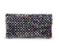 MyBag: Kate Sheridan Alice Beaded Leather Clutch Bag - Multi