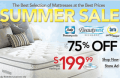 Sleepys: Up To 75% Off Summer Sale