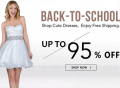 Storedress.com: Back To School: Up To 95% Off + Free Shipping