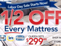 Sleepys: Up To $50 Off Every Mattress