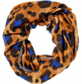 Betsey Johnson: PRETTY KITTY CHAIN EDGE INFINITY SCARF