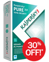 Kaspersky: 30% OFF Kaspersky PURE 3.0 + 2 FREE Tickets To Guardians Of The Galaxy