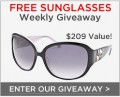 SmartBargains: Weekly Designer Sunglass Giveaway!