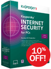 Kaspersky: 10% OFF Kaspersky Internet Security 2014