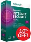 Kaspersky: 10% OFF Kaspersky Internet Security 2014
