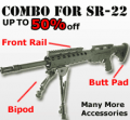 Combat Optical: Up To 50% Off Ruger 1022 SR-22