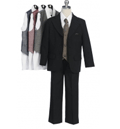 Babyz And Kidz: Stunning Boy 5PC 3 Button Specialty Suit